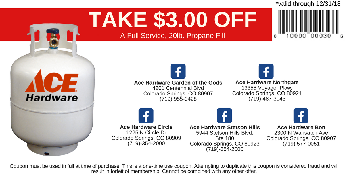Propane Refills And Filling Station Get More Propane For Less At Ace